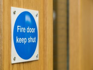 fire door required