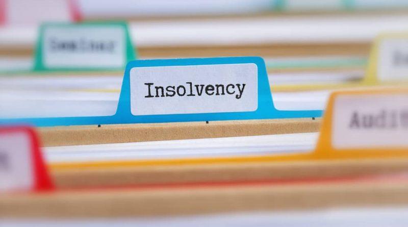 decrease in insolvencies file cabinet